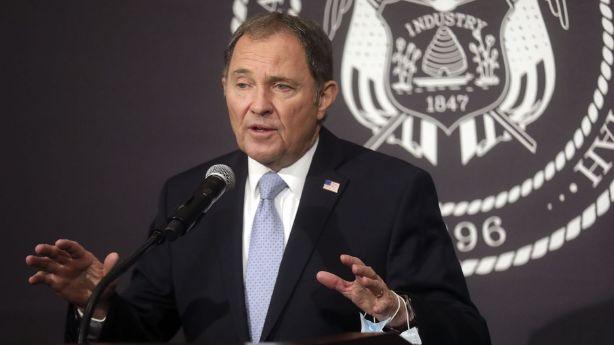 Utah Gov. Gary Herbert providing COVID-19 update as state sees record-high 911 new cases Thursday