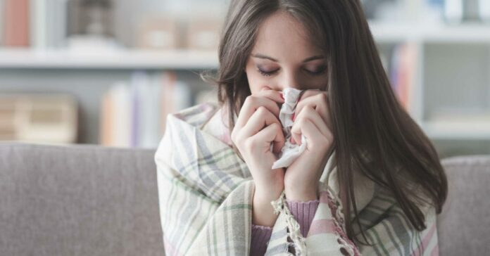Why do colds and flu strike in winter?