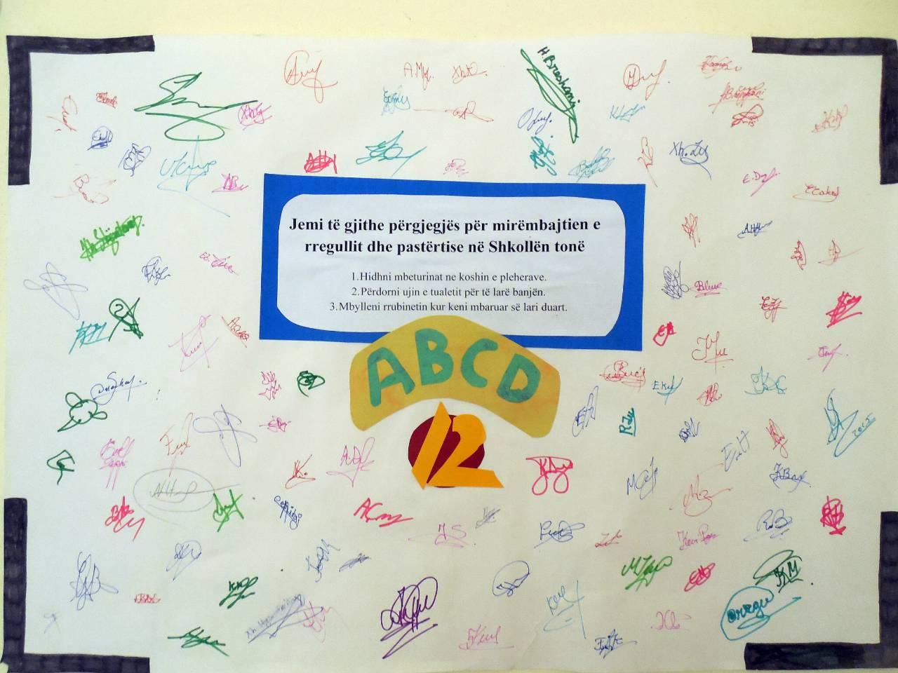 Conclusion of Gjimnaz Ramiz Aranitasi Water and Bathroom Project - Albania