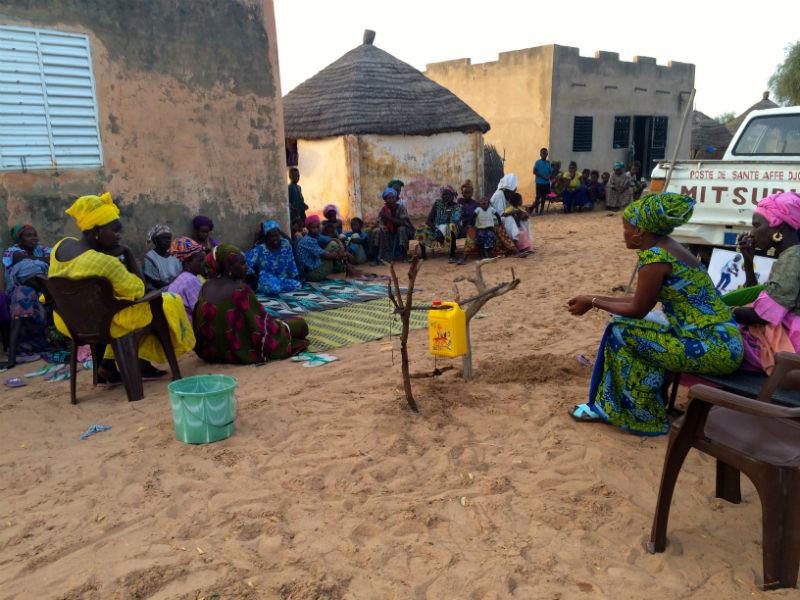 Dahra Latrine Project - Senegal