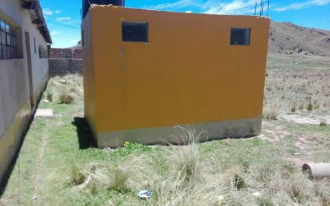 Menor Chijnaya Health Post Water Project – Peru