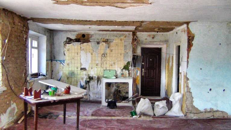 Apartment untouched