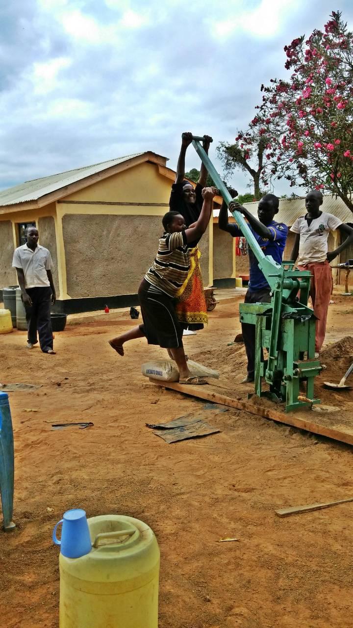Conclusion of Kiritiri Water Tank Project - Kenya
