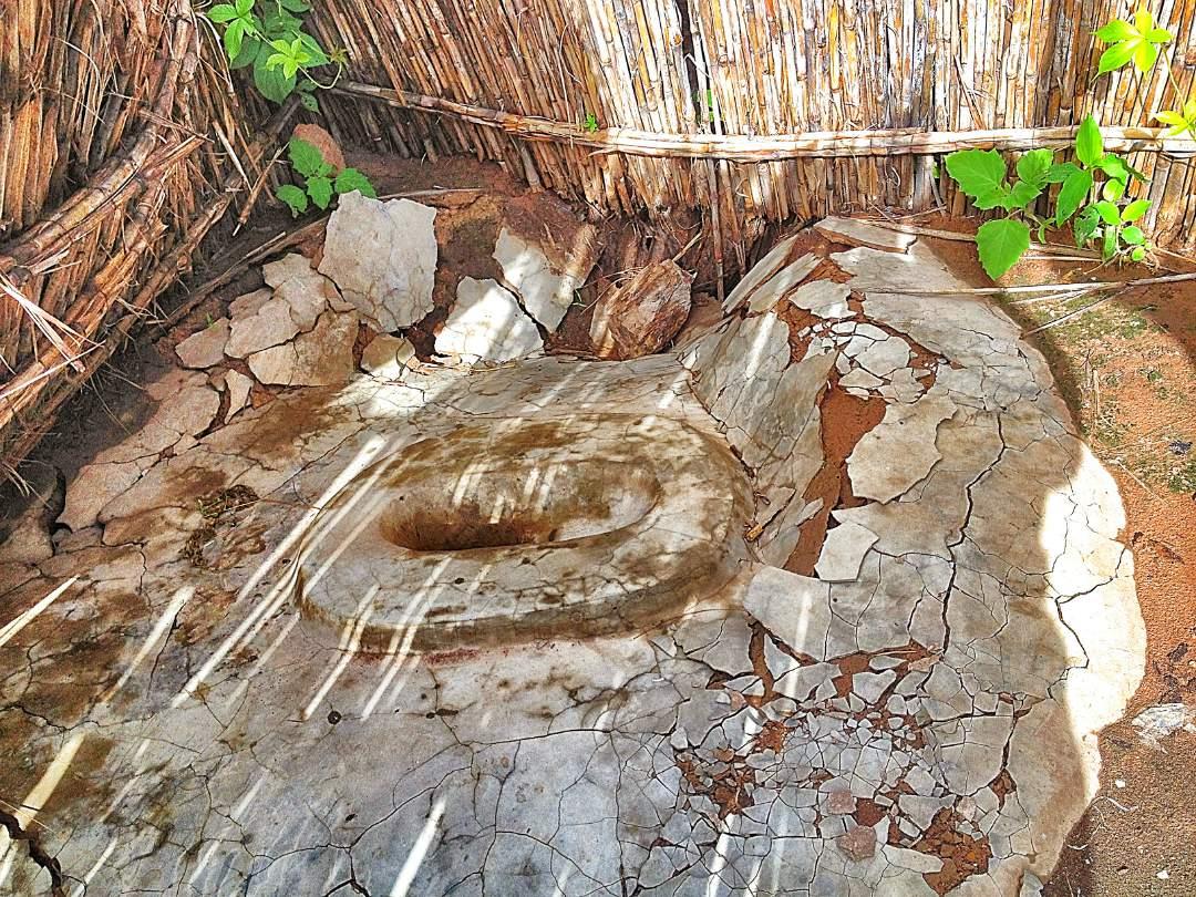 old latrine