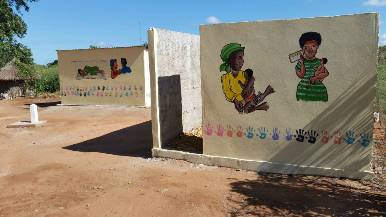 Conclusion of Mangungumete Market Latrine Project - Mozambique