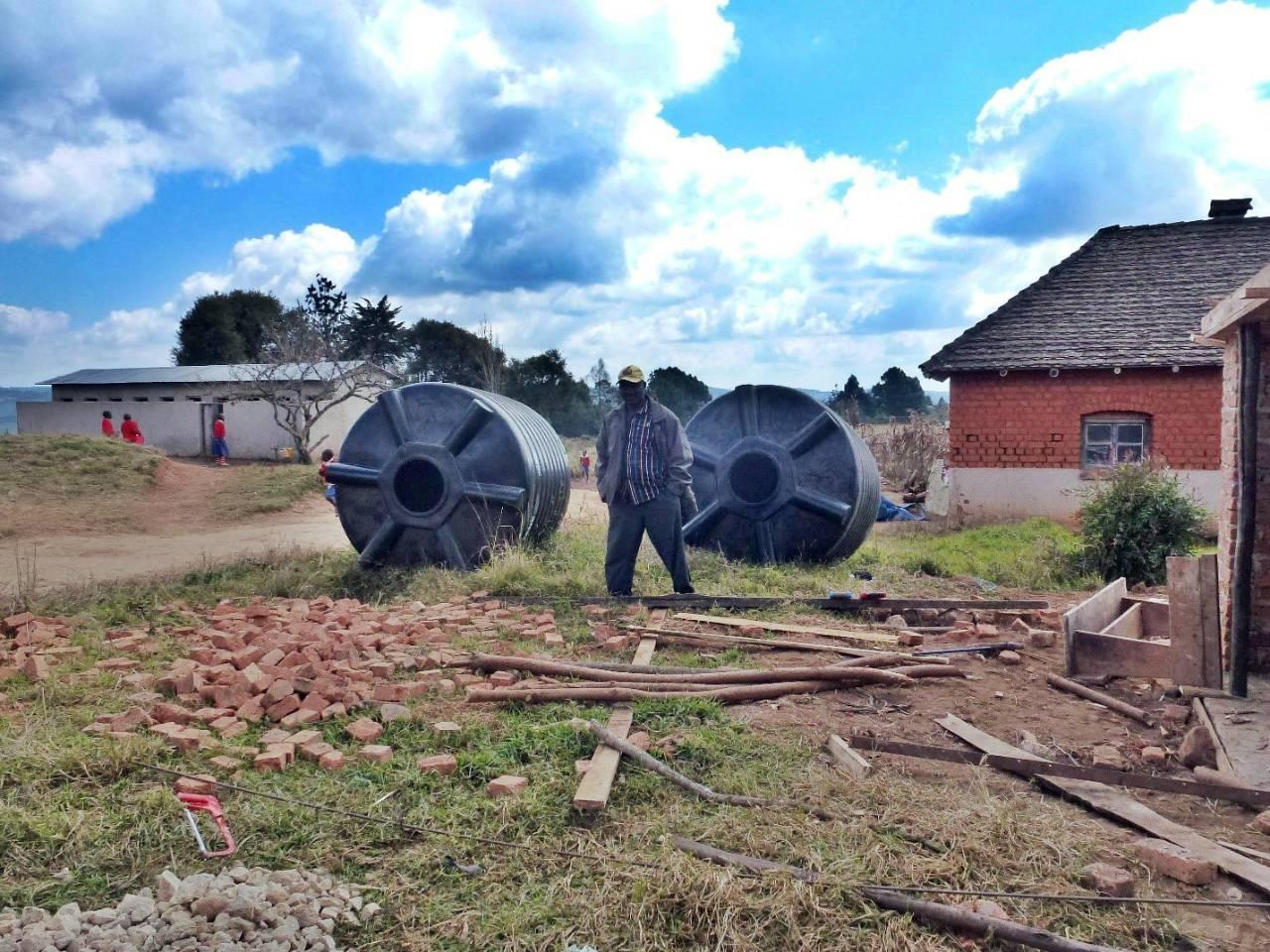 Conclusion of Igoma Primary School Water Tank Project - Tanzania