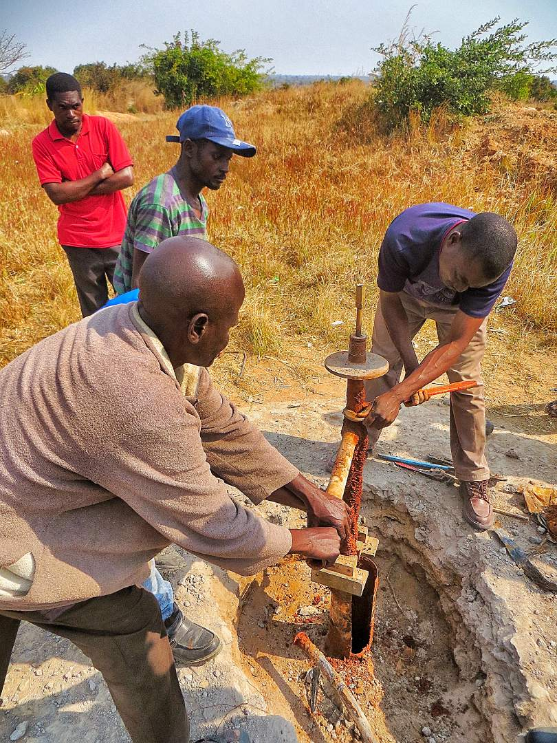 Building a well