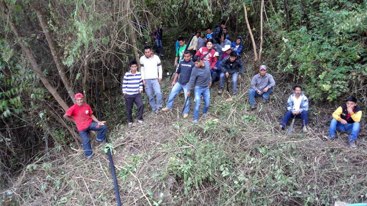Conclusion of Santo Domingo La Cascada Water System Project - Mexico