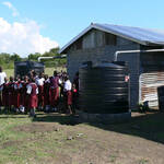 Conclusion of Sargy Education Center Rainwater Catchment System Project – Kenya