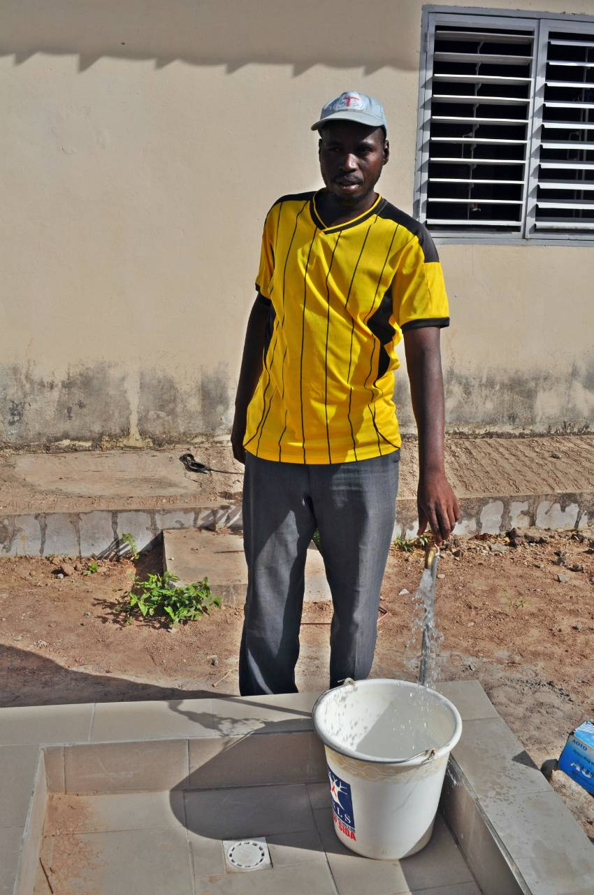 Conclusion of Botou Health Post Water Project - Senegal
