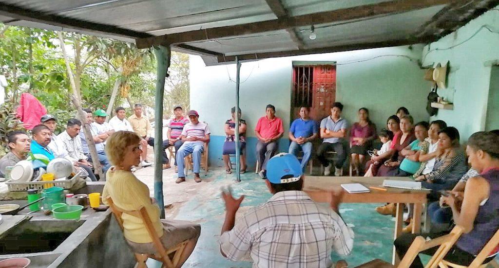 Barrio Tierra Linda Meeting