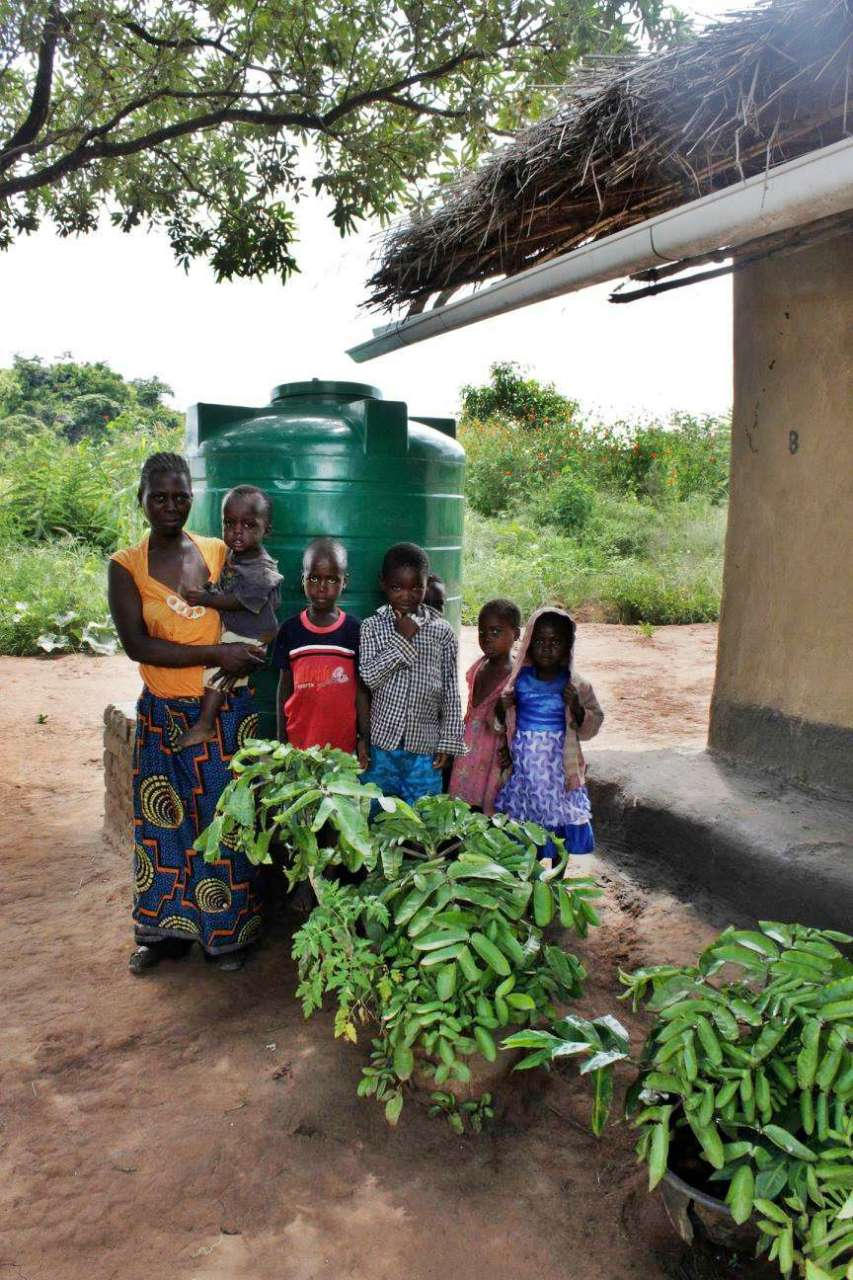 Conclusion of Kamsonga Region Rainwater Harvesting and Well Project - Malawi