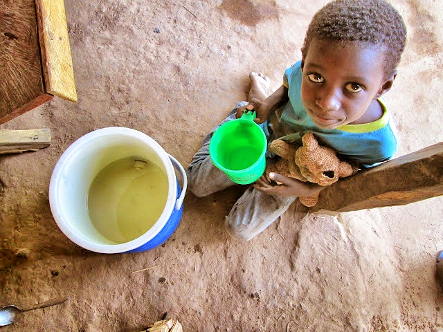 Borehole Dirty vs. Clean Water