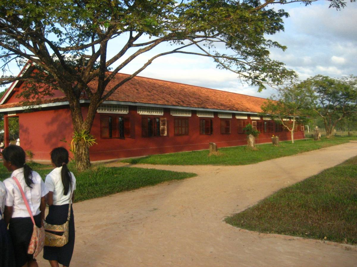 Hun Sen Prasat Bakong High School, Siem Reap Province, Cambodia