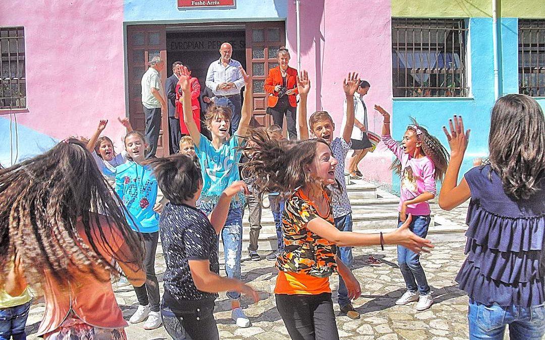 Pjeter Arbnori School Bathroom and Water System Project – Albania