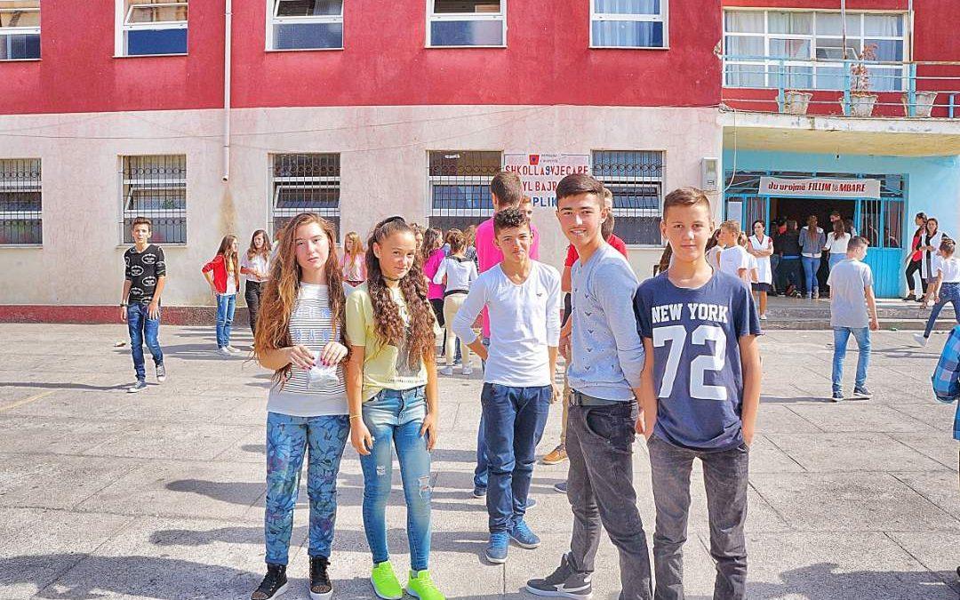 Shkolla Abdyl Bajraktari Middle School Bathroom Project – Albania