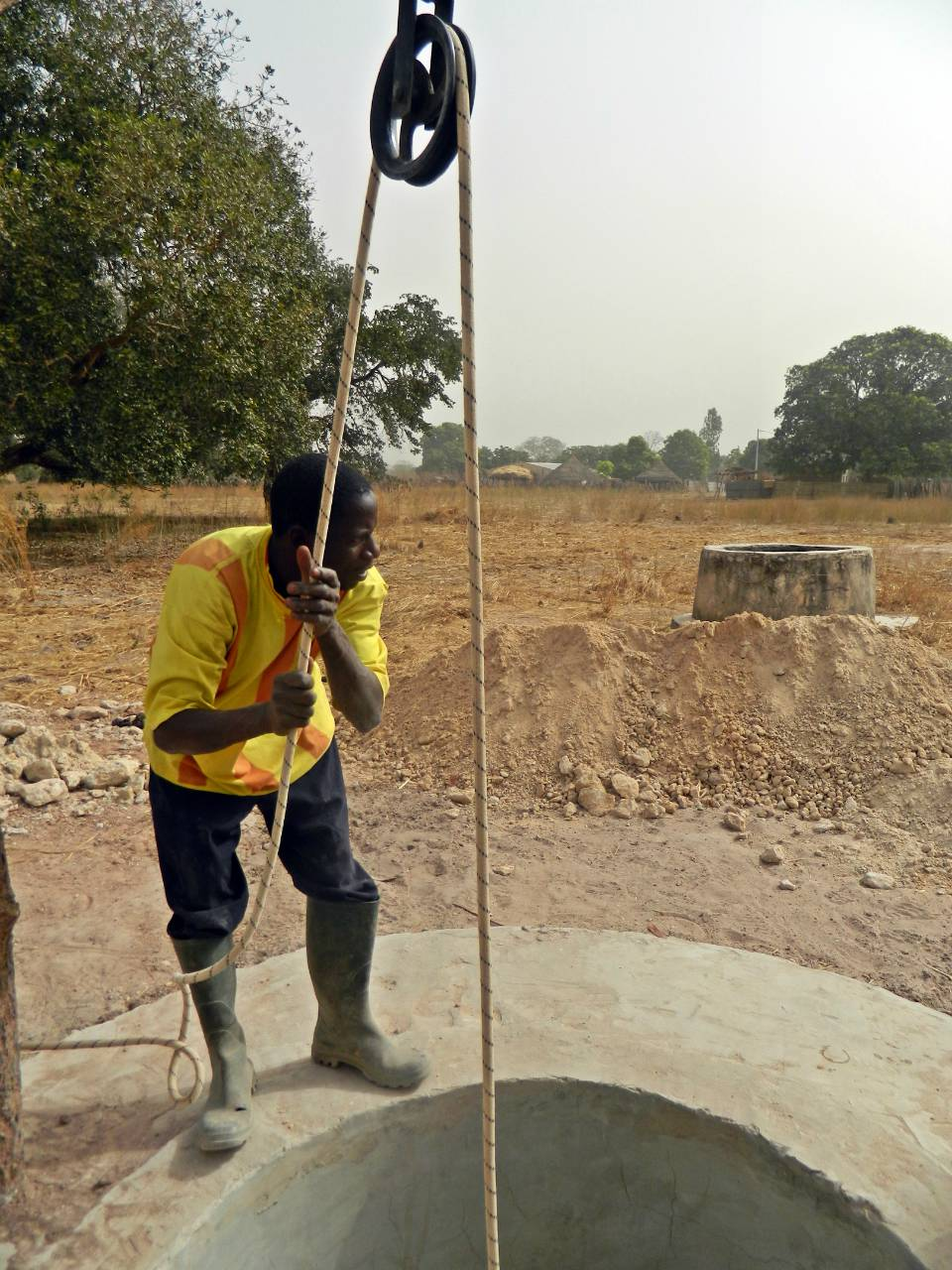 Conclusion of Sanankoro Well Project - Senegal