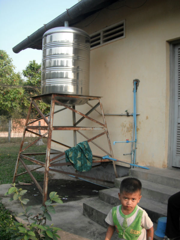 Kandieng Reay Health Center Bathroom Project - Cambodia