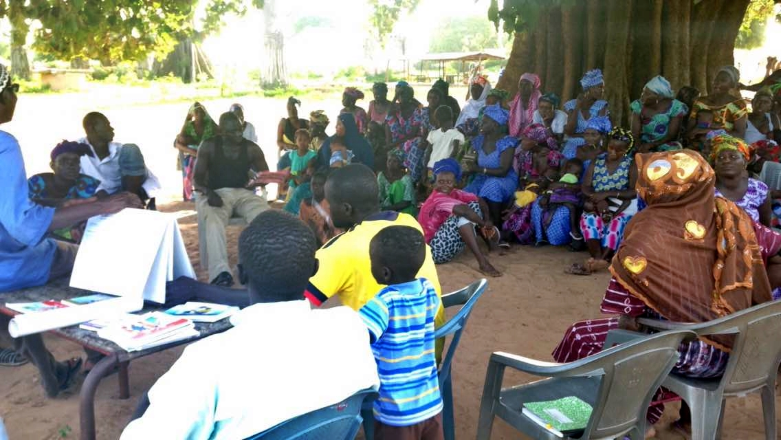 Chissey Majaw Pump Project - The Gambia