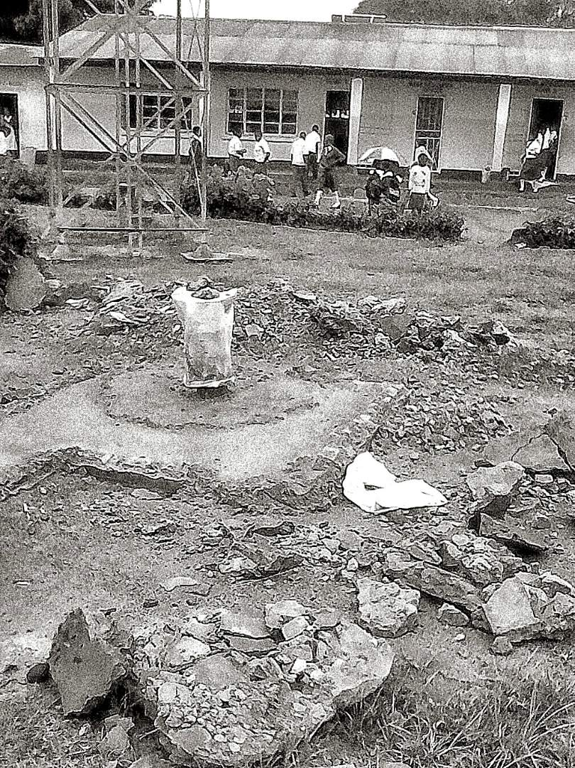 Site of Well at Kaole Primary School
