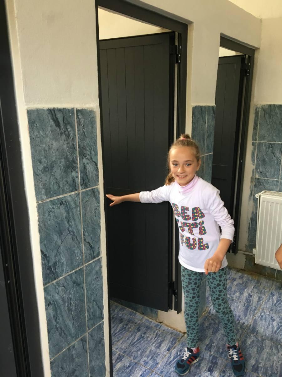 Conclusion of Shkolla 9-vjeçare Rubik Bathroom Project - Albania