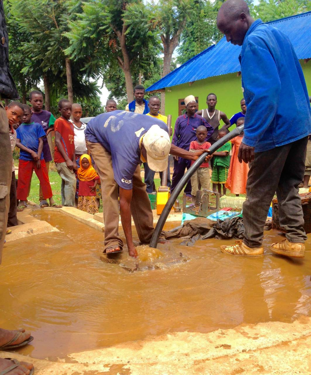 Conclusion of Likarangilo Pump Rehab Project - Tanzania