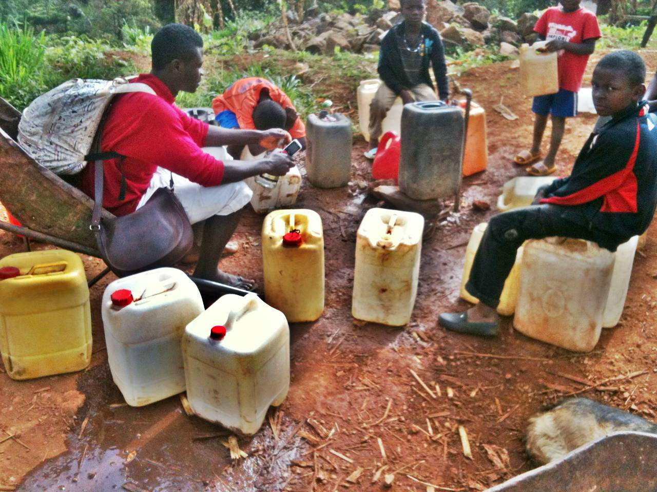 Conclusion of Shisong Water System & Tank Project - Cameroon