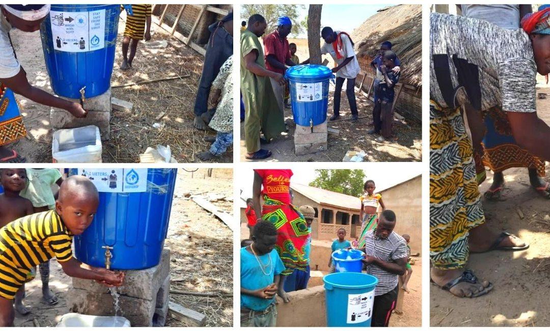 Water & Health: Covid-19 and handwashing stations