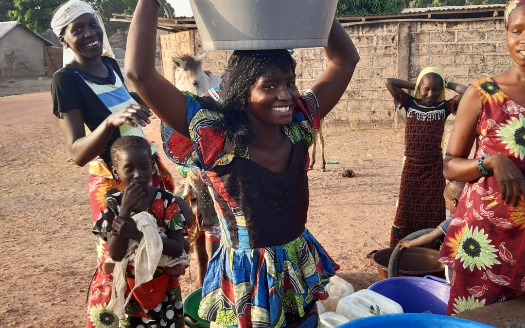 Passy Chally Village and Health Clinic Solar-Powered Water Project—The Gambia