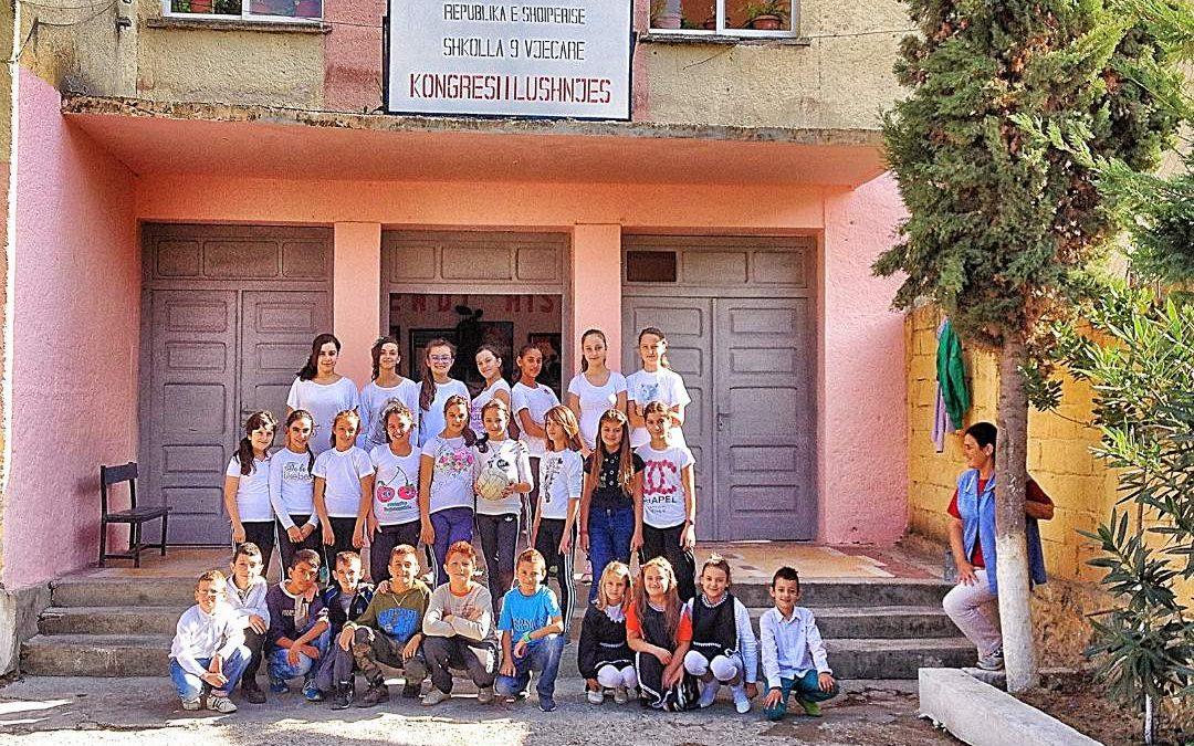 Kongressi School Bathroom Project – Albania