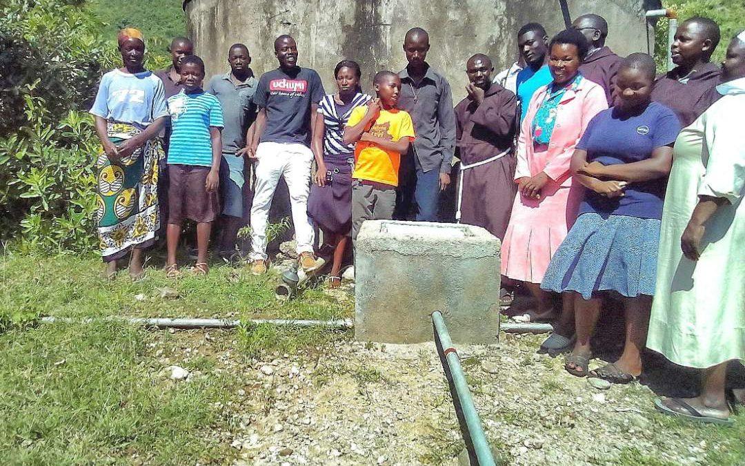 Rusinga Island Parish, St. Joseph's Girls' Secondary School Water Project – Kenya