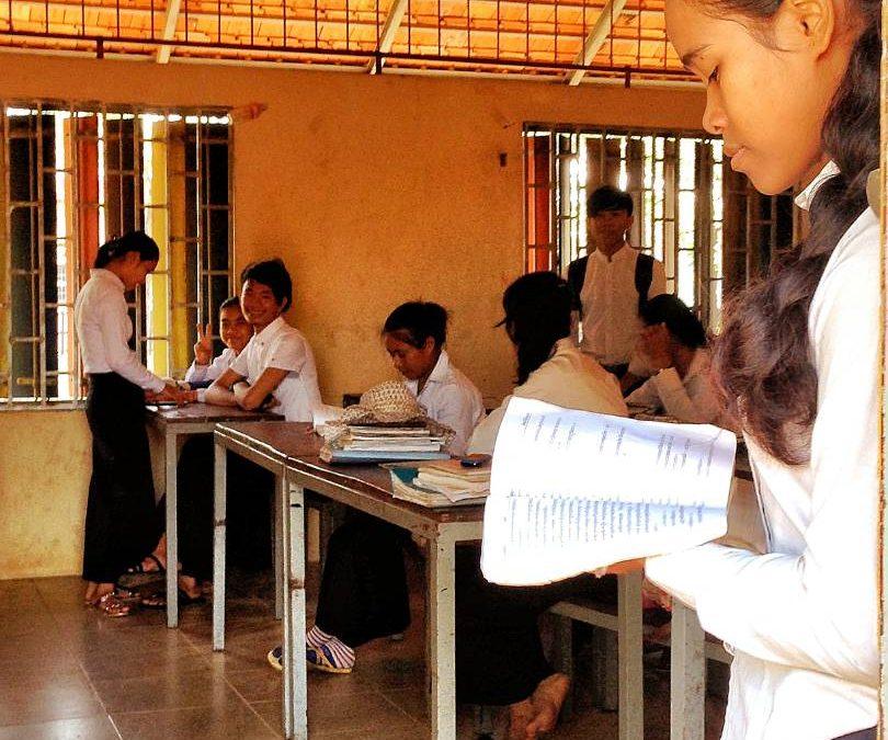 Svey Leu High School Latrine Project – Cambodia