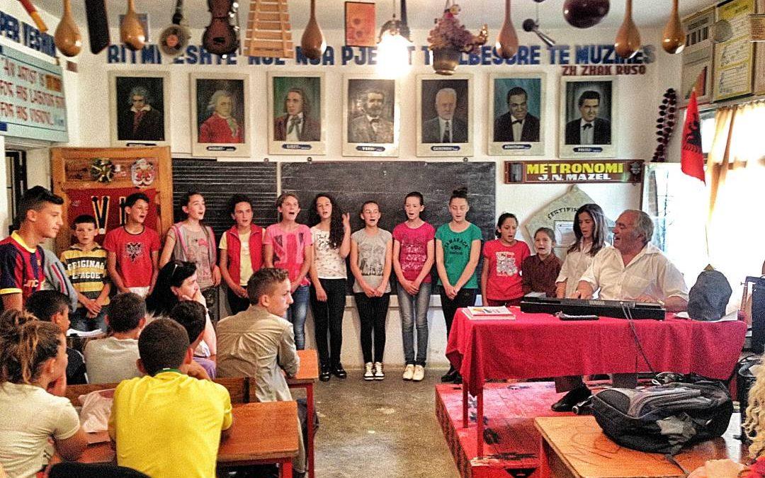 Tarazh Elementary School Water and Bathroom Project – Albania