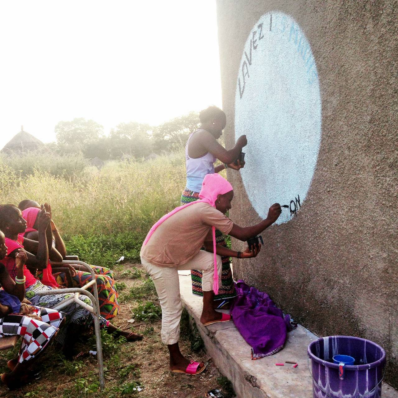 Middle School Latrine Project - Senegal