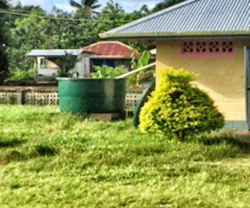 Gataivai School Water Tank Project – Western Samoa