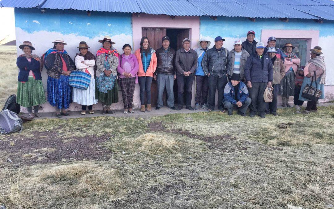 Jallahua Irrigation Project – Peru