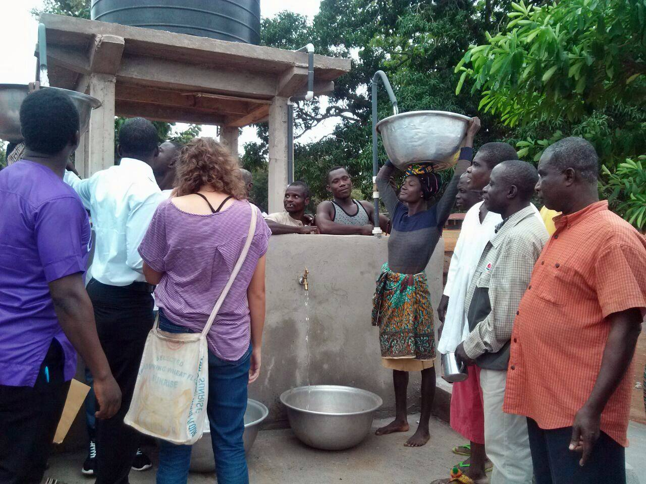 Conclusion of Bonkwae Well Rehab and Water System Project - Ghana