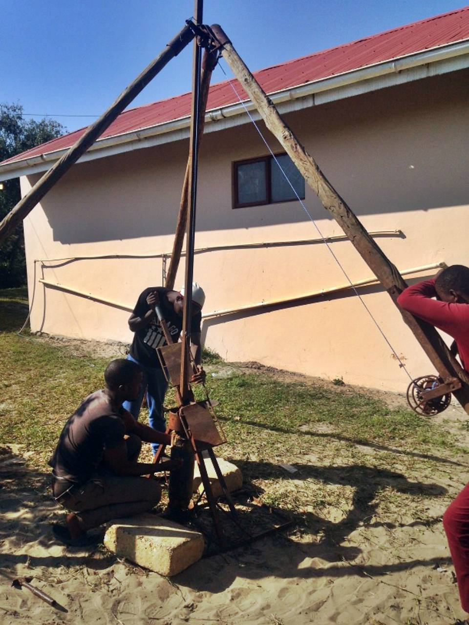 Conclusion of Khula Village Borehole Project - South Africa