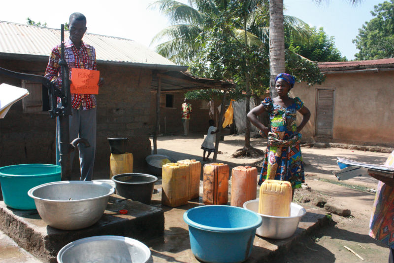 Kati Pump Replacement Project - Togo