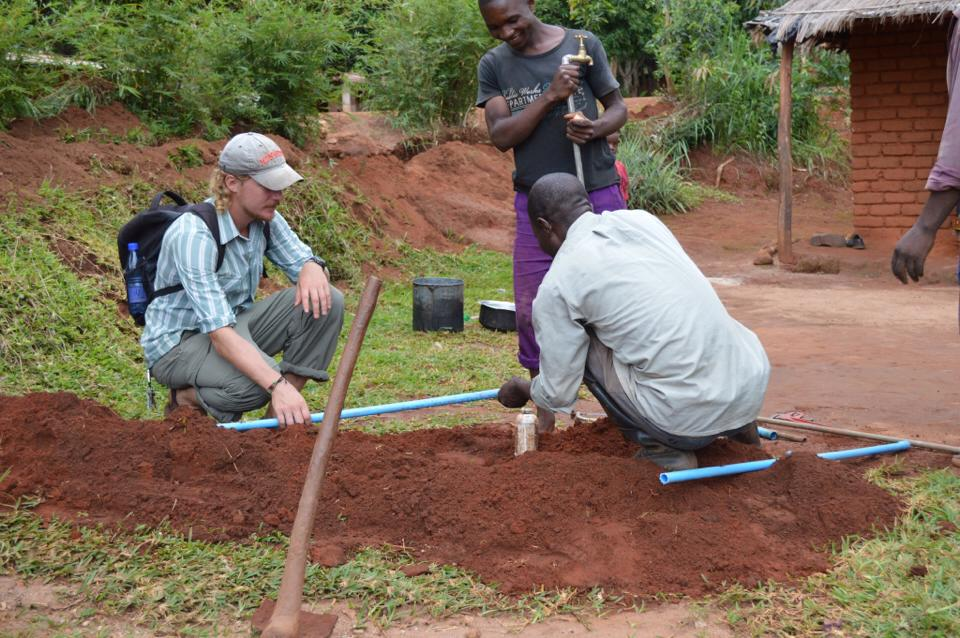 Conclusion of Chaema Water Project – Malawi