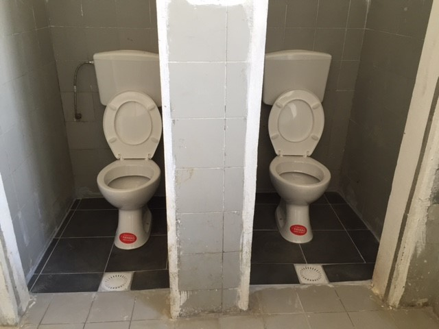 Conclusion of Mother Teresa School Bathroom Project - Albania