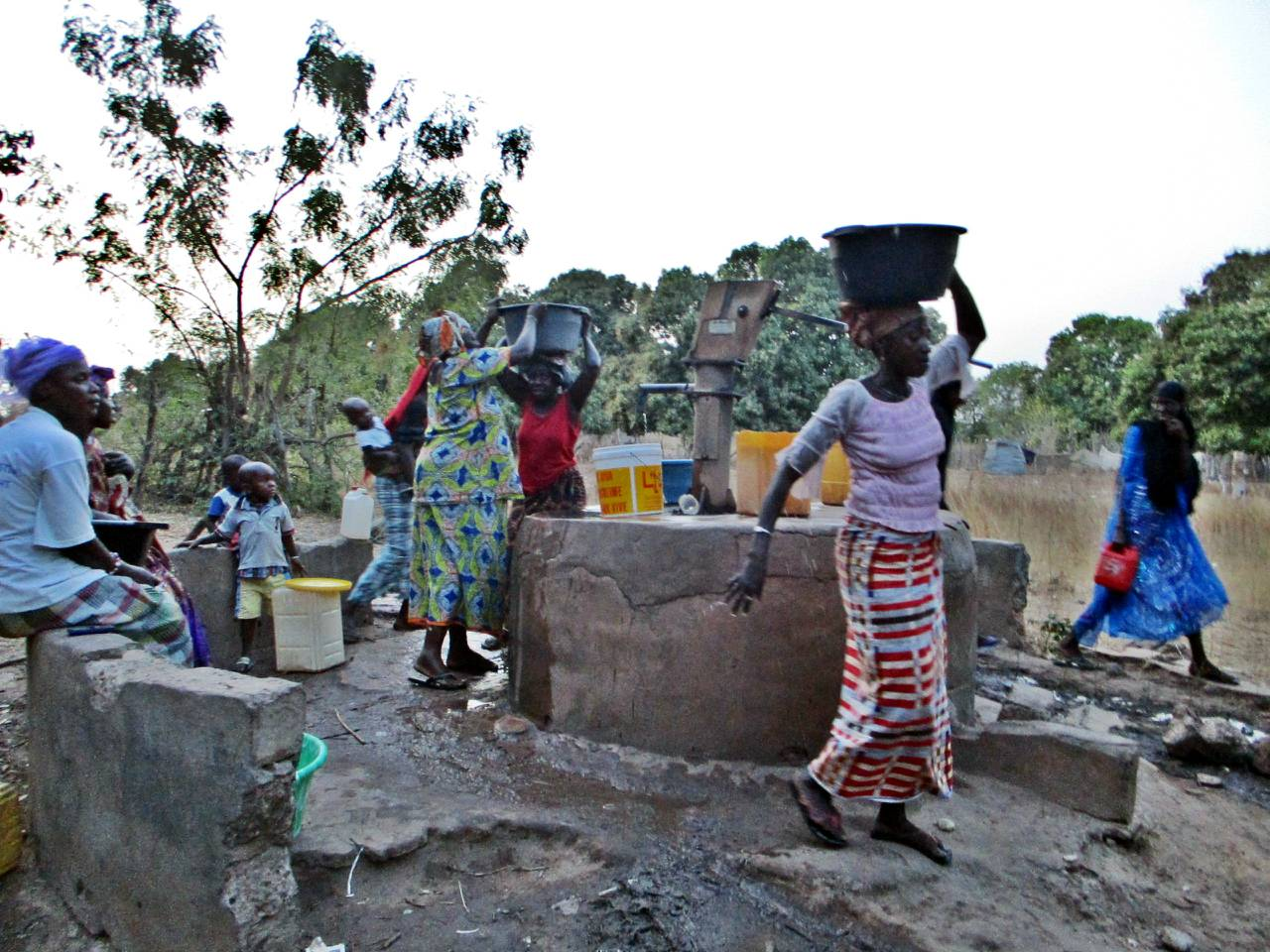 Kiang Central Water System Project - The Gambia