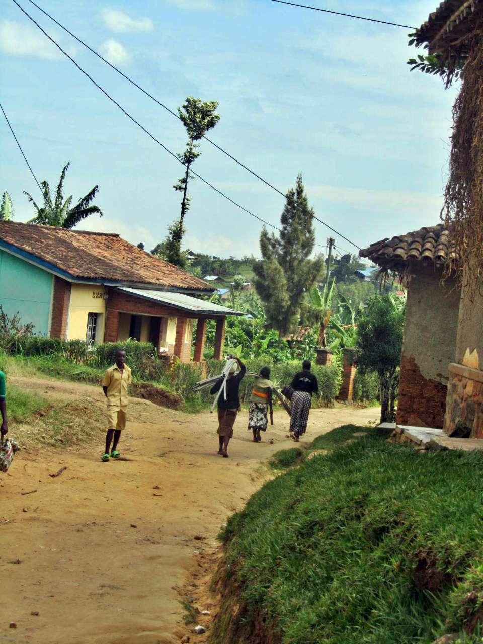 Conclusion of Bubazi Health Center Water Project 2: Gatugunguru Source - Rwanda