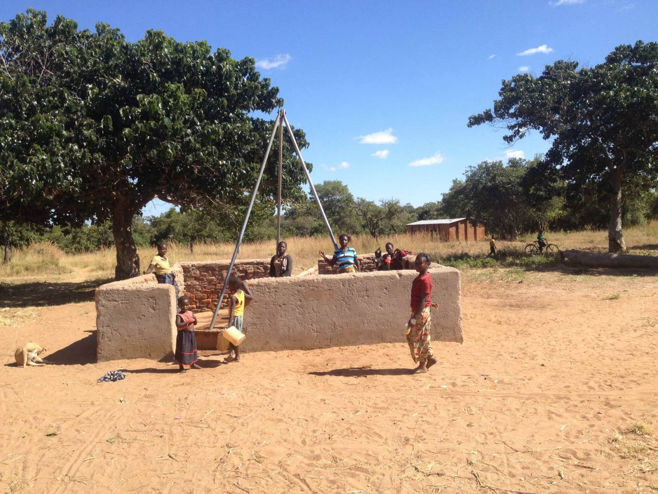 Chimdomba Borehole Project - Zambia