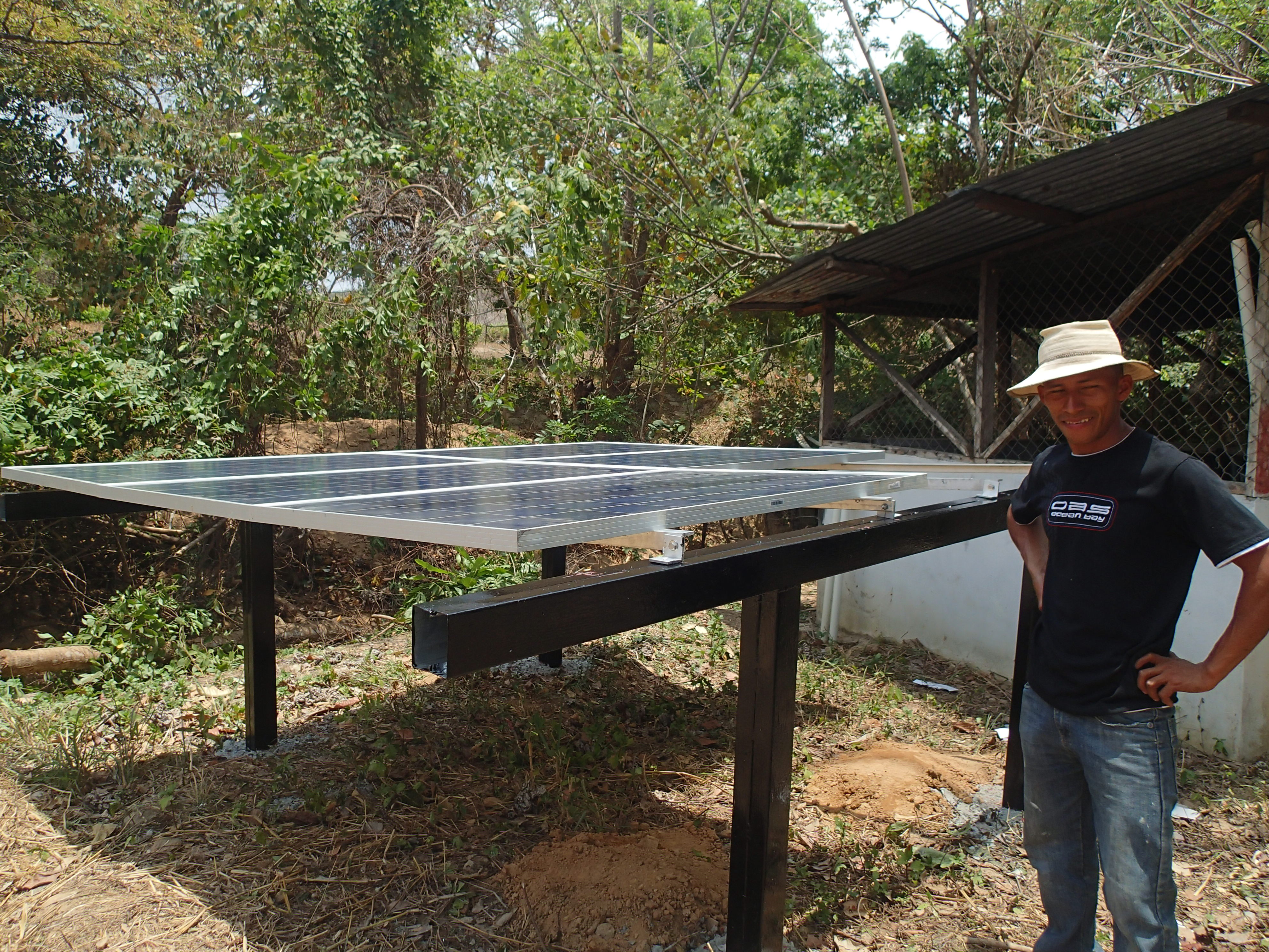 Conclusion of Caimital Solar Well Pump Project – Panama