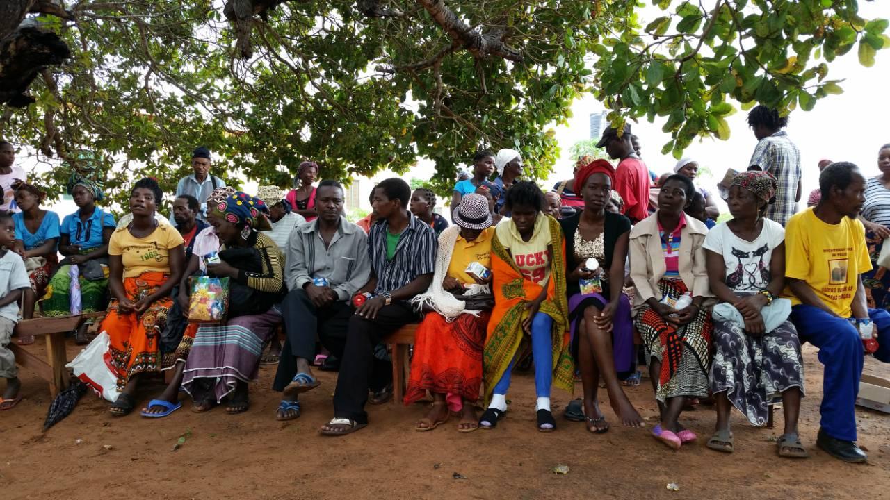 Mangungumete Market Latrine Project - Mozambique