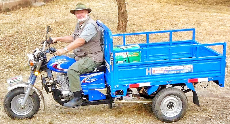 3 wheeled vehicle