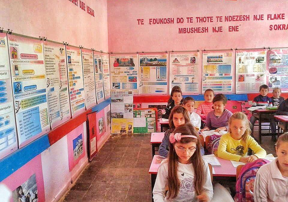 Sheq i Madh School Bathroom and Water Project – Albania