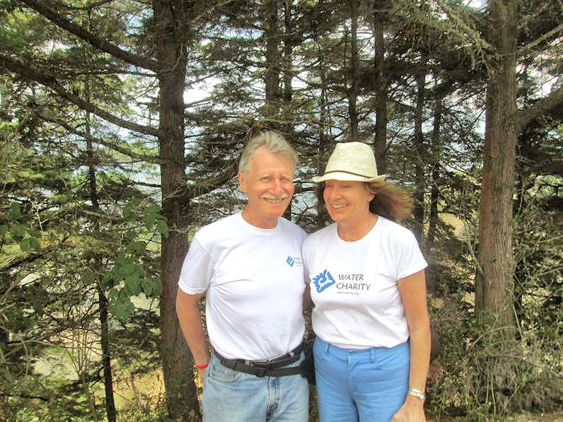 Water Charity COO Averill Strasser & ED Beverly Rouse