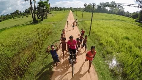 Students in Bakong Village